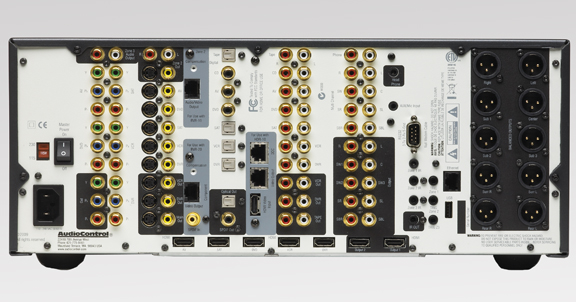 AudioControl Maestro M3 - Back